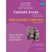 Oxford Picture Dictionary for the Content Areas: Reproducible Social Studies: History and Civic Ideals and Practices by Dorothy Kauffman Ph.D.
