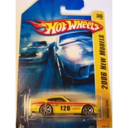 Hot Wheels 2006 New Models 36 of 38 Datsun 240Z Yellow with 10 Spoke Wheels #036/223 by Hot Wheels