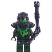 LEGO Ninjago Minifigure - Lloyd Ghost Evil Possessed with Black Staff Weapon (70736)