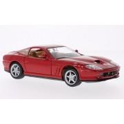 Ferrari 550 Maranello, rojo, Modelo de Auto, modello completo, Bburago 1:24