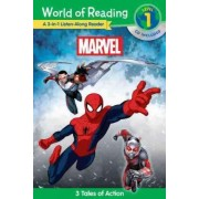 World of Reading: Marvel Marvel 3-In-1 Listen-Along Reader (World of Reading Level 1) by Marvel Book Group