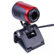 Webbkamera med fäste & inbyggt ljud