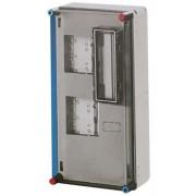 Hensel Basic, 300x650x185mm, 2db 1 fázisú mérőnek, IP65 (HB11KA)