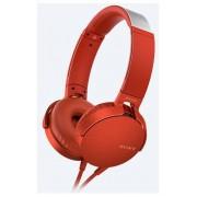 Sony MDRXB550APR.CE7 Extra Bass set căști (roșu)
