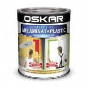 Vopsea pentru plastic si melaminat Oskar gri silver