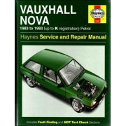 Vauxhall Nova Service And Repair Manual