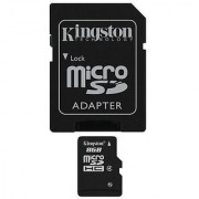 Professional Kingston MicroSDHC 8GB (8 Gigabyte) Card for Samsung Galaxy S4 Smartphone with custom formatting and Standard SD Adapter. (SDHC Class 4 Certified)