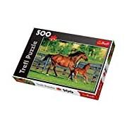 Trefl 37095 Horses Puzzle (500-Piece)