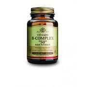 Solgar High Potency Vitamin B-Complex Vegetable Capsules - Pack of 50