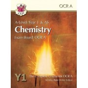 New A-Level Chemistry for OCR A: Year 1 & AS Student Book with Online Edition by CGP Books
