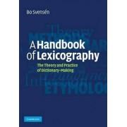 A Handbook of Lexicography by Bo Svens