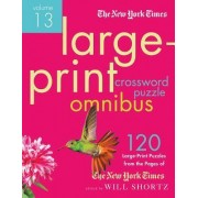 The New York Times Large-Print Crossword Puzzle Omnibus by The New York Times