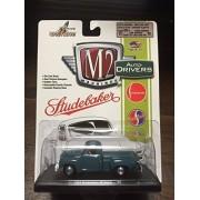 Studebaker 3R Truck Blue, 1954, Model Car, Ready Made, M2 Machine 1:64 by M2 Machines