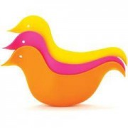 Skip Hop Set paperelle da bagno (arancio-rosa)