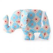 ALIMROSE Baby Toy - Flat Elephant Rattle (Sky Blue)