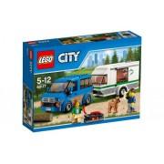 City - Busje en caravan 60117