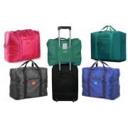 2791 Borsone bagaglio a mano pieghevole impermeabile con supporto da trolley