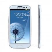 "Samsung Galaxy S3 i9300 Quad-Core 4.1 WCDMA téléphone Android w / 4.8"" HD IPS, 8MP, NFC, GPS, Wi-Fi - blanc"