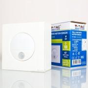 Iluminação parede LED 3w»15W Luz Natural 100Lm c/sensor IV