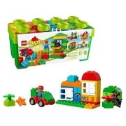 Lego All-In-One Box of Fun 65-Piece Duplo Bricks Building Set