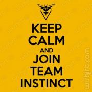 T-shirt Keep Calm Join Instinct