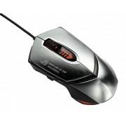 Mouse Asus Republic Of Gamers GX1000, Laser, cu fir, hairline finish argintiu