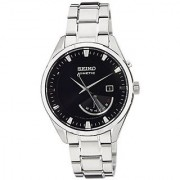 Seiko Silver Stainless Steel Round Dial Quartz Watch For Men (SRN045P1)