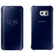 Rockxy™Samsung Galaxy A7 2016 Flip Cover; Clear View Flip Cover for Samsung Galaxy A7 2016 / A710 Blue Mirror