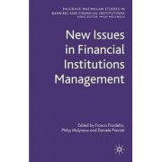 New Issues in Financial Institutions Management by Franco Fiordelisi