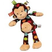 Mary Meyer Taggies Dazzle Dots Soft Toy Monkey