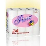 Hartie Igienica Fiore Super Soft Alba 24 role 2 straturi