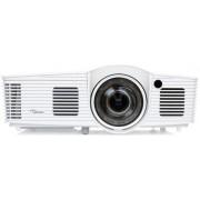 Videoproiector Optoma GT1070X, 2600 lumeni, 1920 x 1080, Contrast 23000:1, Full 3D, HDMI (Alb)