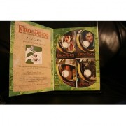Lord of the Rings - Fellowship of the Ring - 4 CD Cardz