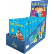 My Very First Bible Stories Little Library Counterpack Filled by Lois Rock