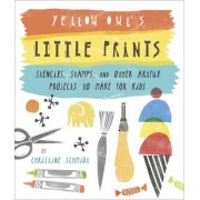 Yellow Owl's Little Prints by Christine Schmidt