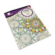 Daler-Rowney Színezőkönyv - Kaleidoszkóp