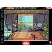 """Educa Borras - Puzzle """"Estudio de arte de Gauguin"""", 1500 piezas (15534)"""