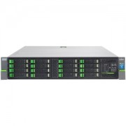"""Fujitsu Server PRIMERGY RX2520 M1 - Rack 2U - 1x Intel Xeon E5-2420v2 6C/12T 2.2GHz, 8GB (1x8GB) DDR3-1600 reg ECC, DVD-RW, noHDD (max. 8 x SAS/SATA 2.5""""), RAID 0/1/5/10/50/6/60 Ctrl 6GBps 512MB, 2xGbit LAN, 1x PS 450W Hot Plug, rails, 3Yr On-site"""