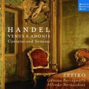Ensemble Zefiro - Handel Venus & Adonis - Cantatas & Sonat (0886976302320) (1 CD)