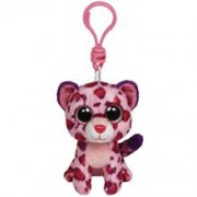 Jucarie Plus Meteor Baby Clip Leopard Roz 8.5 Cm