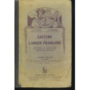 Lecture Et Langue Francaise. Cours Moyen 2e Degre.