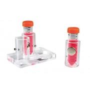 BELART 947720 Portoir para separación de bolas magnéticas, capacidad, 6 tubos de centrífuga 15 mL o seis microviales 5 mL