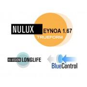 Nulux EP Eynoa 1.67 HVL z BlueControl Podwójnie Asferyczna