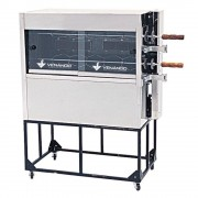 Máquina de Assar Frango Compacta a Gás Venâncio 10 Frangos