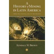 A History of Mining in Latin America by Kendall W. Brown