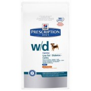 prescription diet w/d canine mini low fat secco gusto pollo kg.1,5