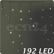 Kaemingk LED Lichterkette Eiszapfen Batteriebetrieben 192 LED
