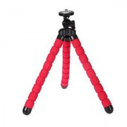 Luxebell Flexible Tripod Stand 10.6 for Gopro VTech Kidizoom Action Cam Sjcam Sj4000 Sj5000 and Action Camera - Red