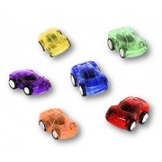 12 Mini Pull Back Racer Cars Assorted Colors - 1 DZ 2.25' Pullback & Let Go Play Toy Racing Vehicles Prize Assortment...