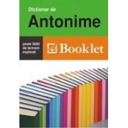 Dictionar de antonime (ed. Booklet).